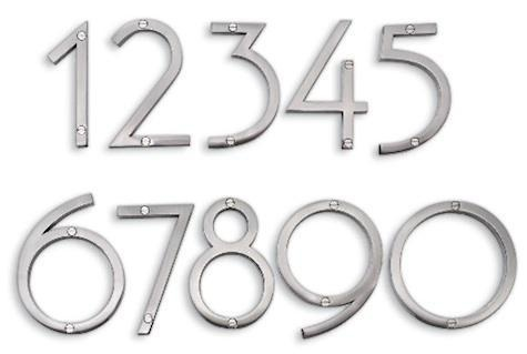 Sausalito house numbers for Mid century modern address numbers