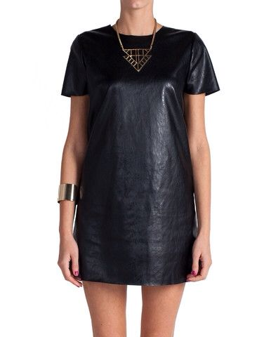 Leather Tunic   DressCode.   Pinterest