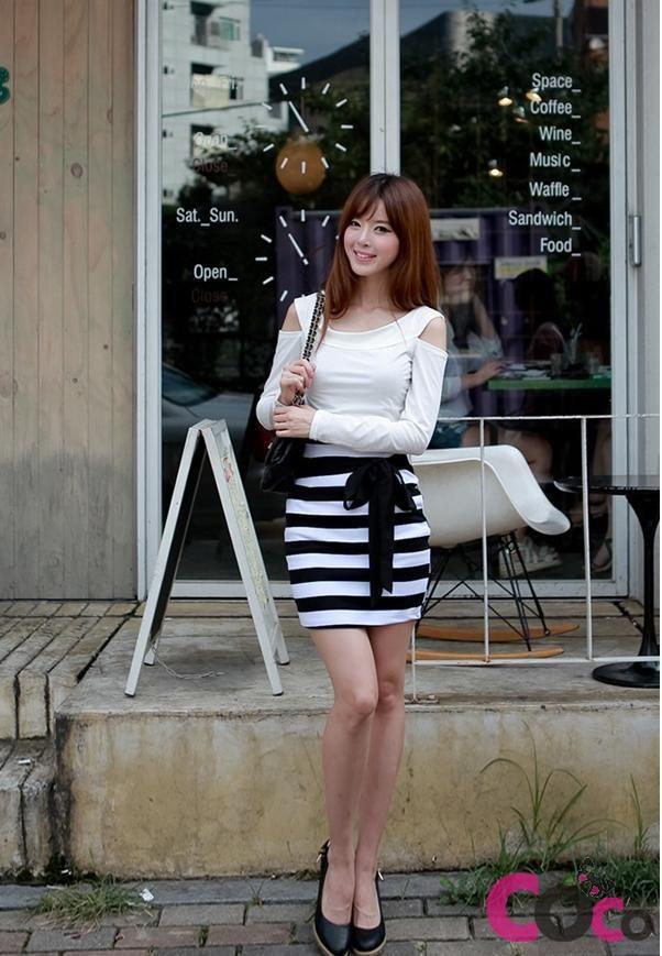 Black And White Skirt Mini Japan Style Fashion Baby Faaassshio