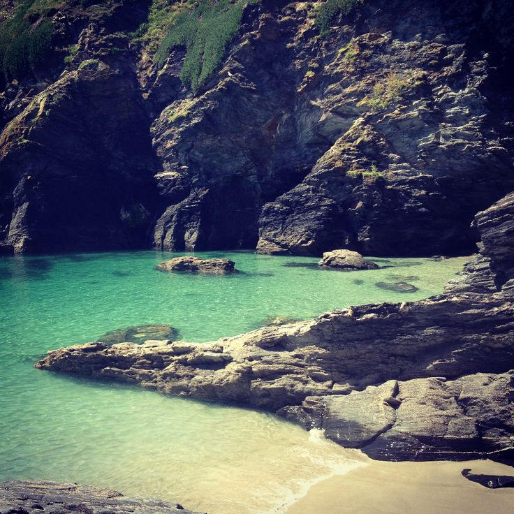 Prussia cove, Cornwall | The Mighty Cornwall | Pinterest