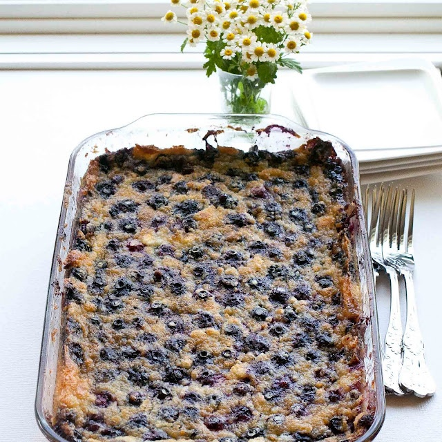 Easy Blueberry Desserts