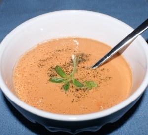 Raw tomato soup - no cooking
