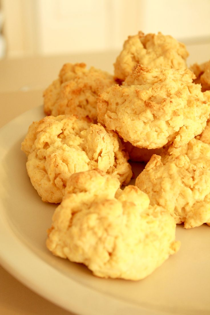 Cream Drop Biscuits {Traci's Note: Biscuits that are made with cream ...