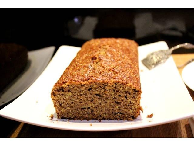 Crackly banana bread (recipe from Smitten Kitchen)