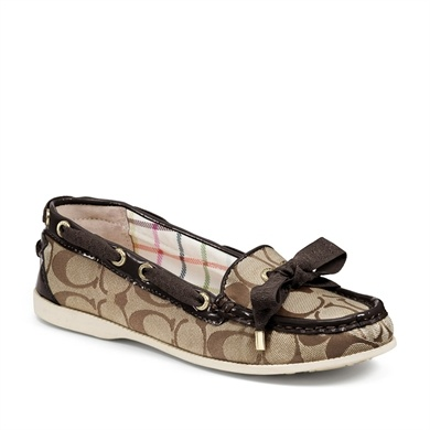 COACH Clarisa Boat Shoe