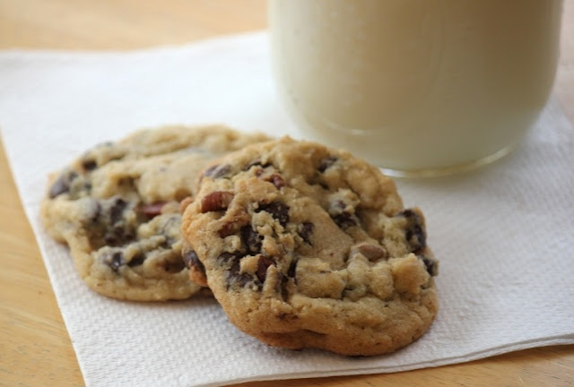New York Times Chocolate Chip Cookies {Adapted}
