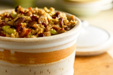 Herb and Bacon Corn-Bread Stuffing | Casseroles-Dinner Pies-Mexican ...