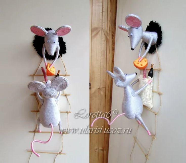 Мышки на холодильник своими руками 356