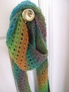 Free Knitting Pattern khs-biasKnitScarf Bias-Knit Scarf