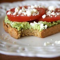 Avocado & Tomato Tartine - Believe me, you'll want to enjoy this ...