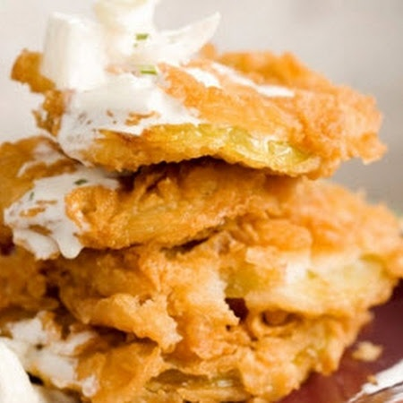 Bobby's Lighter Fried Green Tomatoes Recipe | Key Ingredient