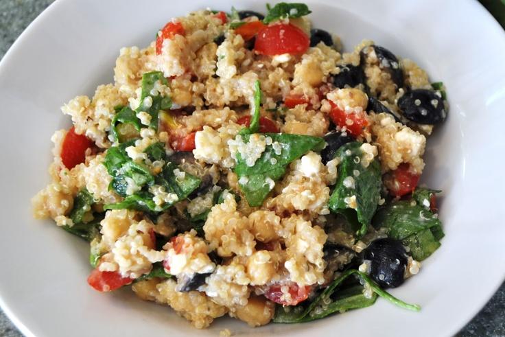 Greek Quinoa Salad | food..nom.nom:-) | Pinterest