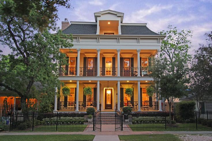 New Orleans style home home is where the heart is