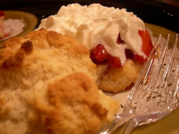 Easy Strawberry Shortcake from Food.com: This recipe came from the ...