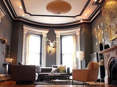 Gorgeous grey living room
