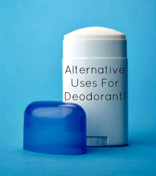 Deodorant s alternative uses smart stuff pinterest