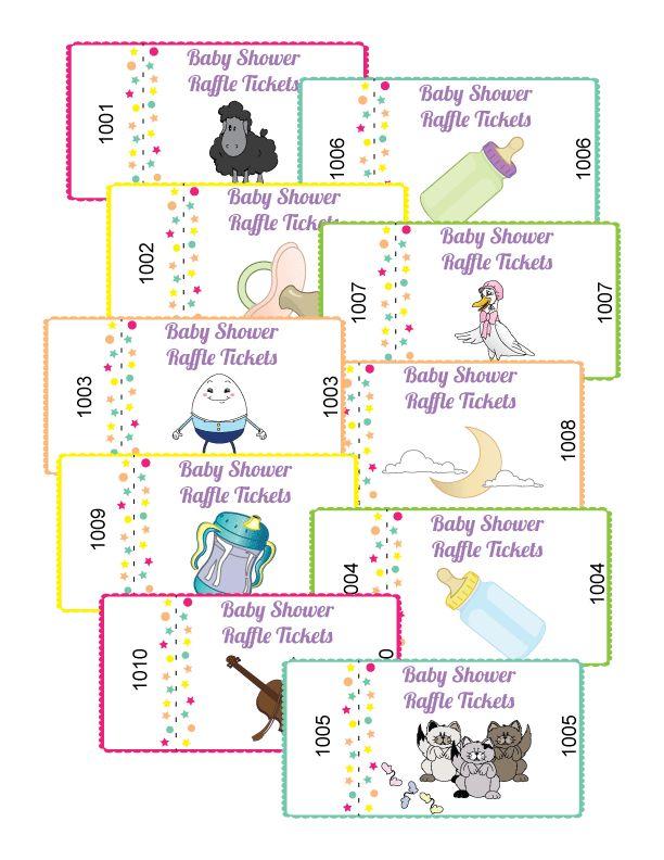baby shower raffle tickets sara 39 s baby shower ideas pinterest
