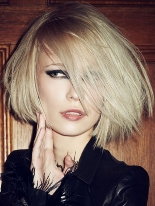 edgy bob | hair | Pinterest
