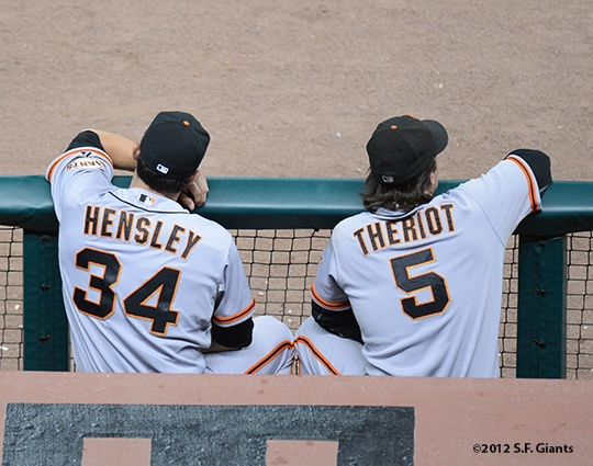 Clay Hensley & Ryan Theriot Cute