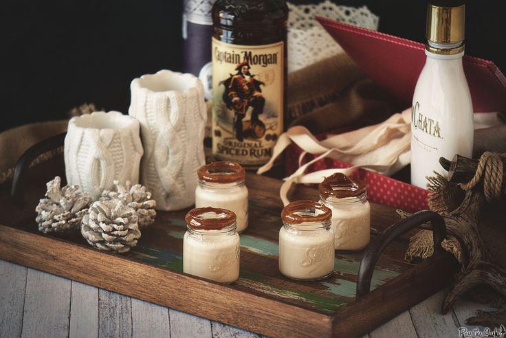Dulce de Leche Rum Shooters #CaptainsTable | Recipe