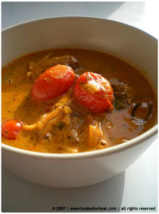 Coconut Fish Curry | Cari De Poisson Recipe — Dishmaps