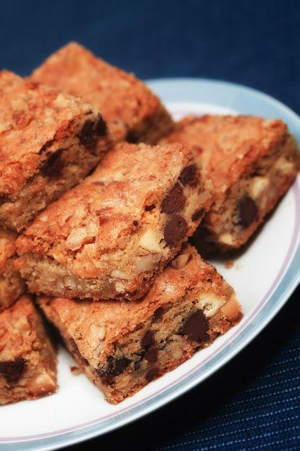 kruizing with kikukat: Blond Brownies | Brownies/Bars | Pinterest