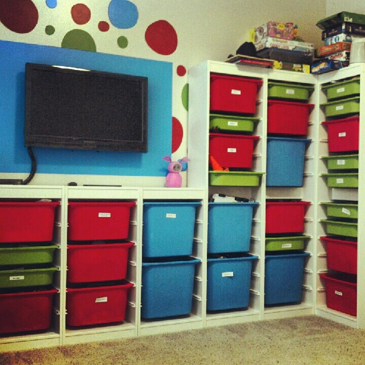 Ikea Children 39 S Storage For A Playroom Playroom Pinterest