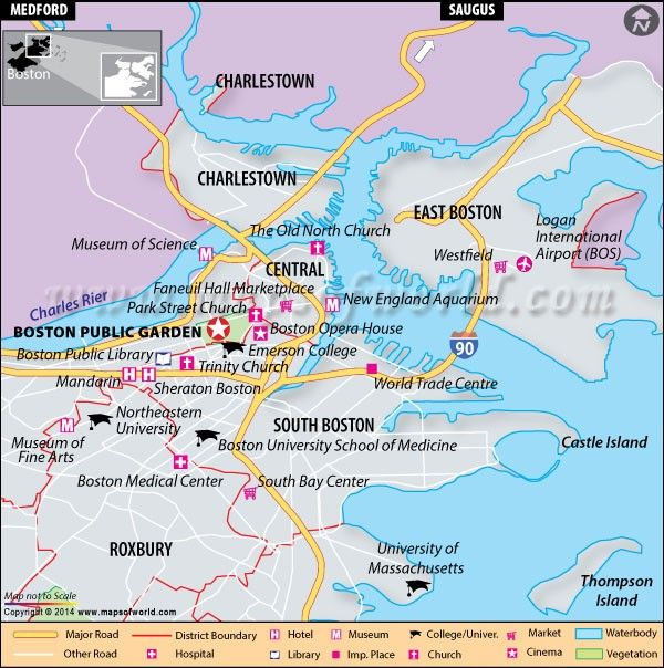 Location map of boston public garden travel maps pinterest Boston public garden map