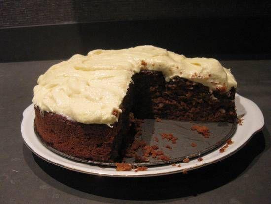 Worteltaart of worteltaart cupcakes