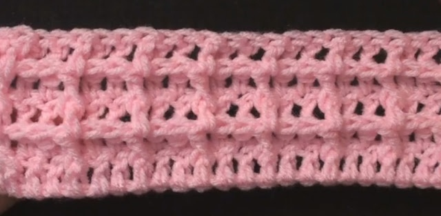 Crochet Waffle Stitch Crochet Geek - Free Instructions and Patterns