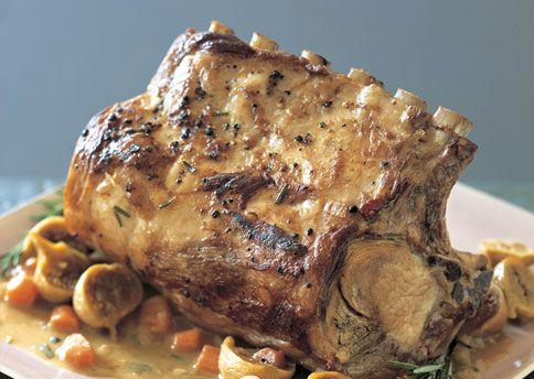 Fig and Rosemary Pork Pot Roast - Bon Appétit