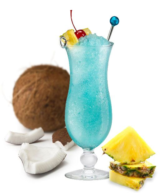 Coconut Blue Hawaiian Recipe — Dishmaps