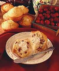 Cranberry Cheesecake Muffins - Easy!