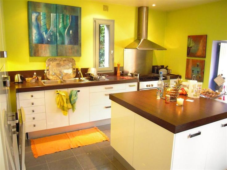 Une cuisine moderne et ultra lumineuse !  cuisine  Pinterest