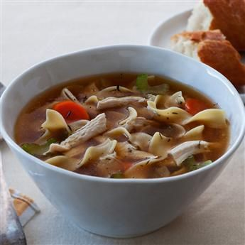 Roasted Chicken Noodle Soup | Soups and Stews | Pinterest