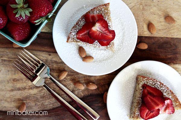 Gluten-Free SUPER Moist Almond Cake
