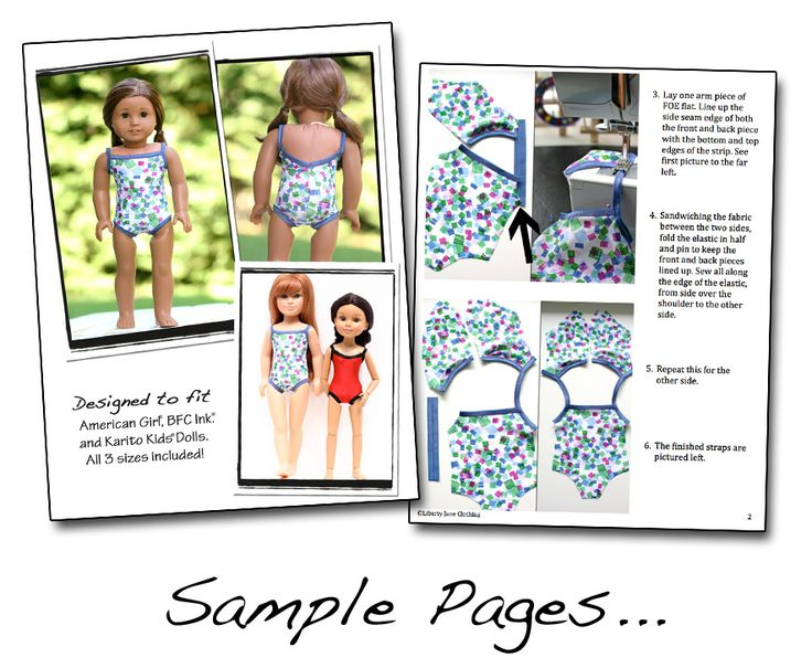 American Girl Doll Clothes Patterns Printable