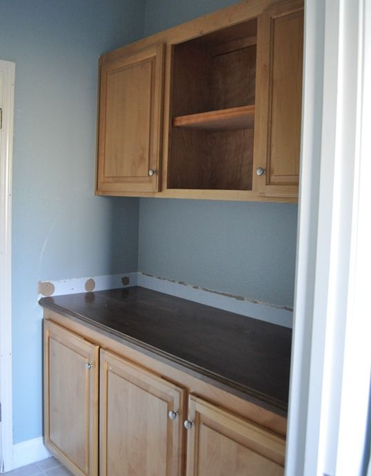 how to painted bathroom cabinets