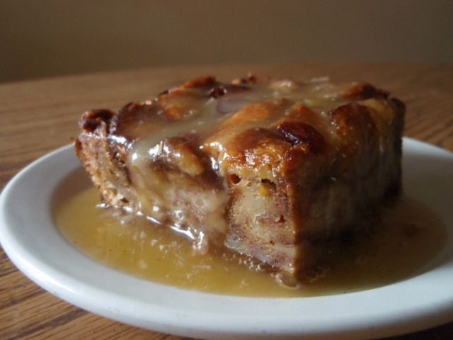 Bread Pudding with Whiskey Sauce | Best Desserts | Pinterest