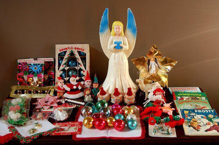 Vintage Christmas Vintage Decorations Pinterest