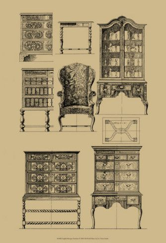 English Baroque Furniture History Of Design Pintere