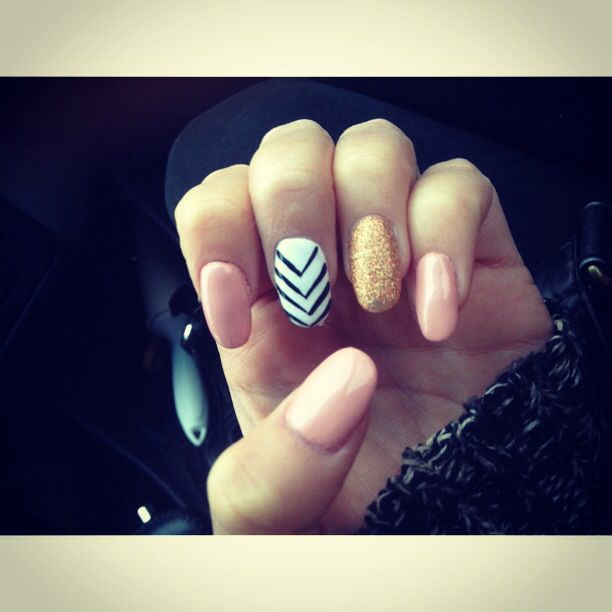 Nail Designs For Round Nails : Rounded tip nails nail designs - Nail Designs For Round Nails: Moved Permanently. Fabulous Ideas Of