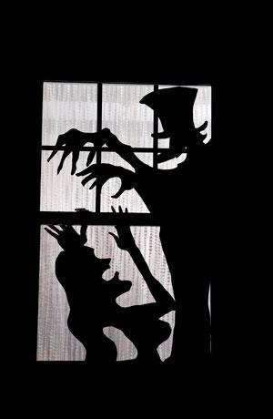 halloween window silhouettes halloween fall pinterest. Black Bedroom Furniture Sets. Home Design Ideas