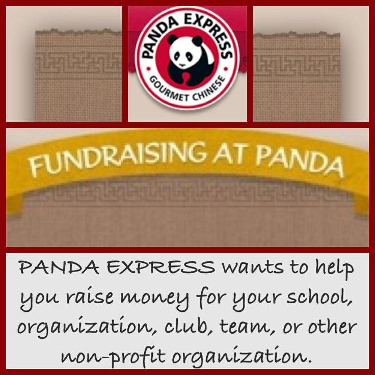 fundraising panda express