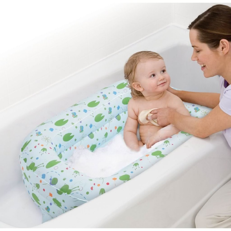 best inflatable baby tubs baby bath pinterest. Black Bedroom Furniture Sets. Home Design Ideas