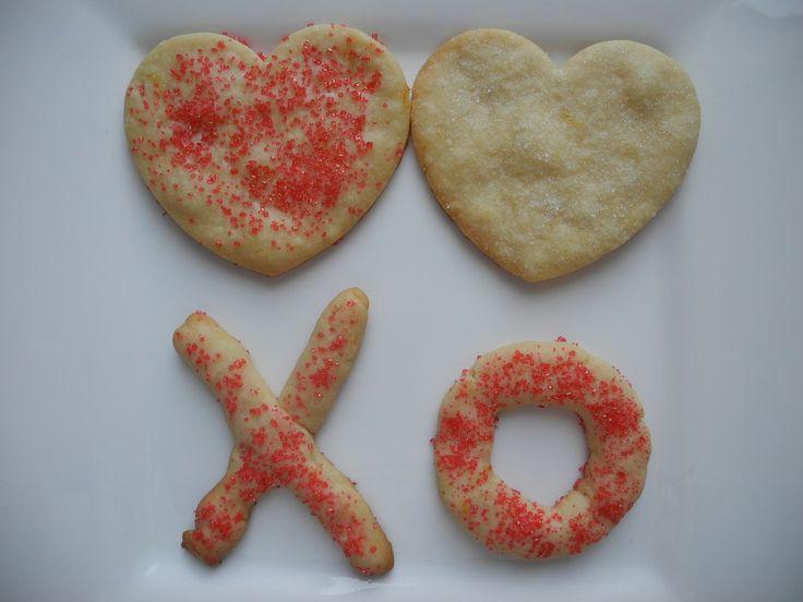 Lemon Shortbread Heart Cookies | Munch Rat | Pinterest