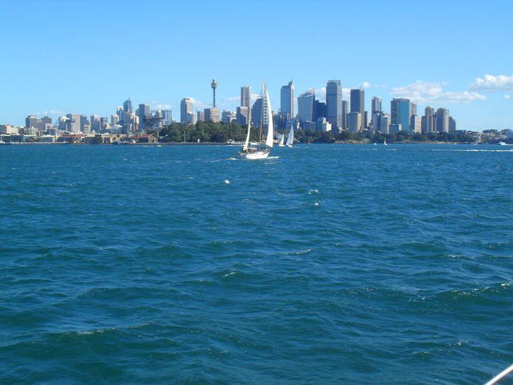 Sydney skyline, Sydney Australia. I'd live here in a heartbeat.