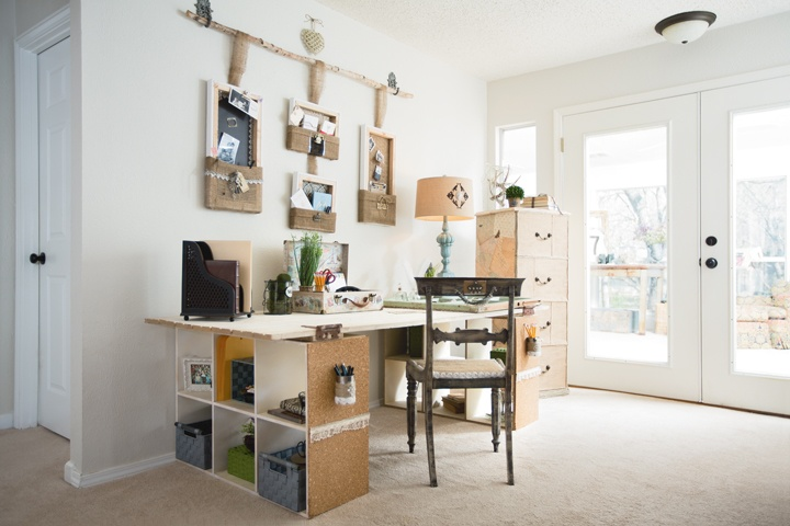 Small Craft Room Ideas From Donna Moss Organize It