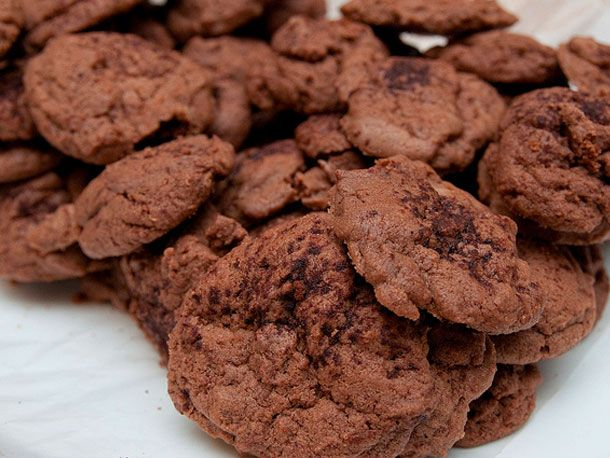 Chocolate Eggnog Cookies   Recipe