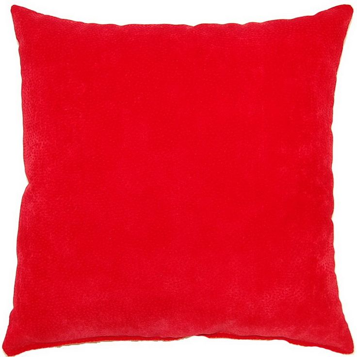 Throw Pillows On Konga : Cosmo Scarlet Red 17-inch Throw Pillows (Set of 2)